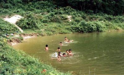 Children Skinny Dip
